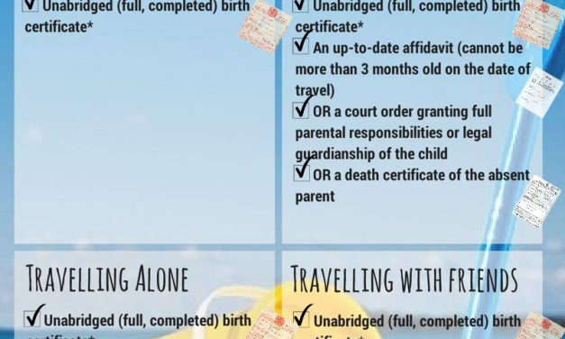 South Africa – New regulations on travelling with children
