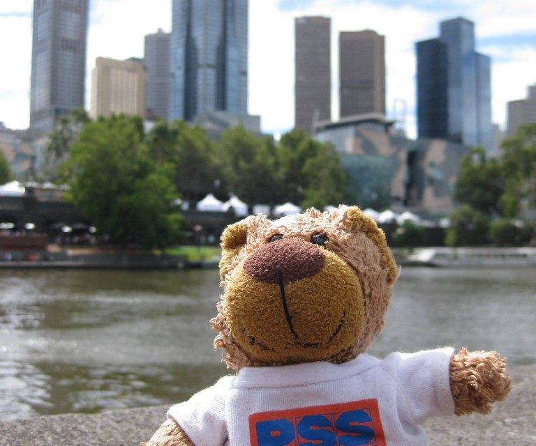 Have Teddy Will Travel – Globetrotting with a PSS Teddy