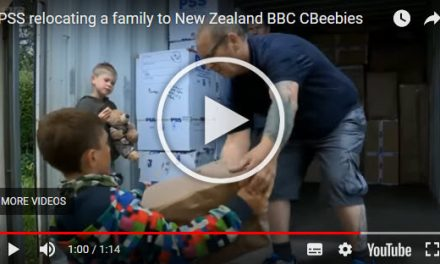 UK family make a successful move to New Zealand with the help of BBC CBeebies and PSS International Removals