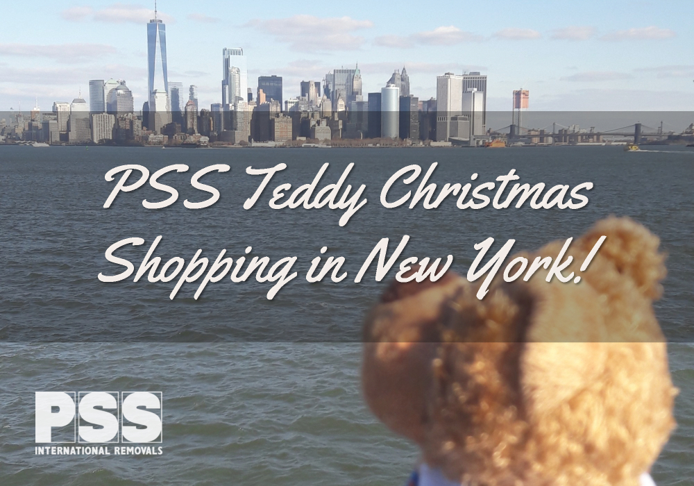 PSS Teddy's Christmas Shopping Trip To New York