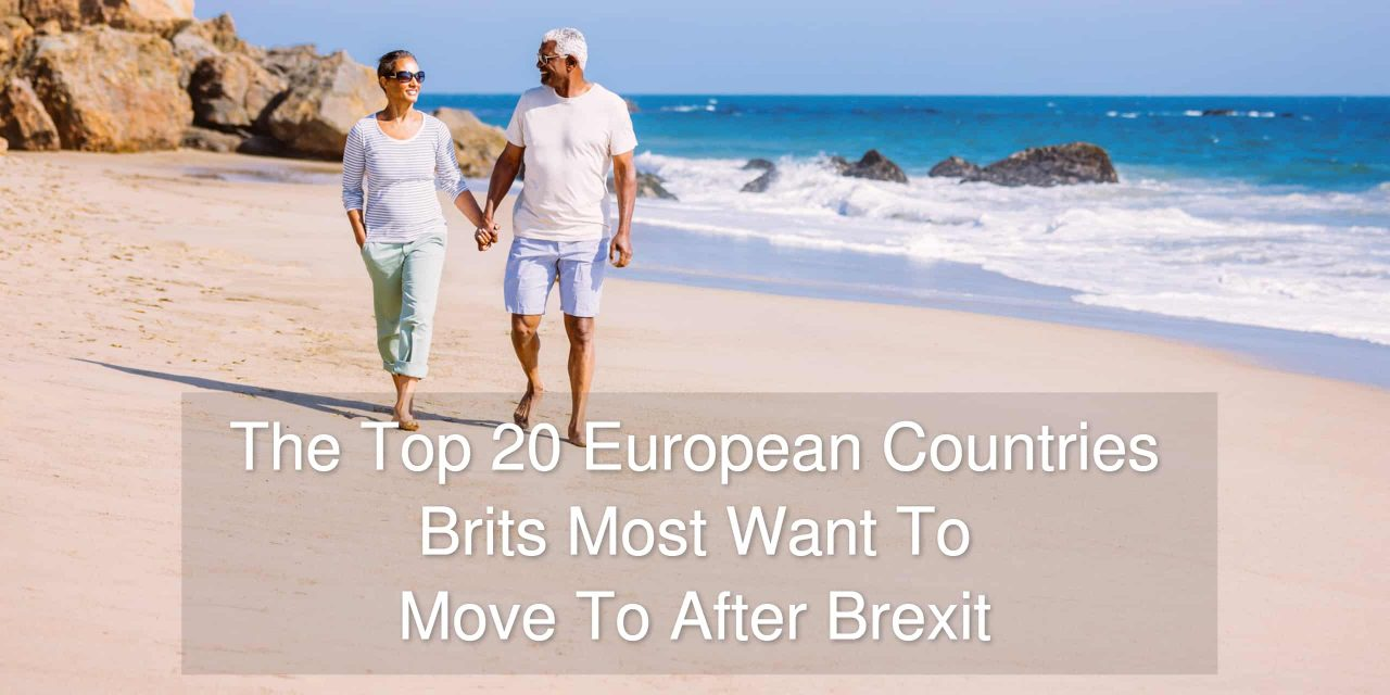 The Top 20 European countries British most want to move to after Brexit