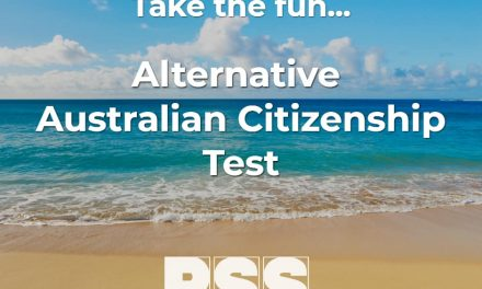 Try the fun PSS Alternative Australian Citizenship Test