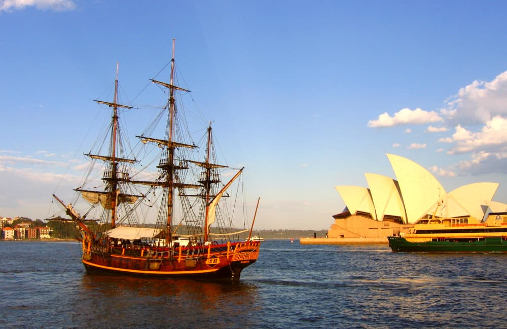 historical sydney - HMS Bounty