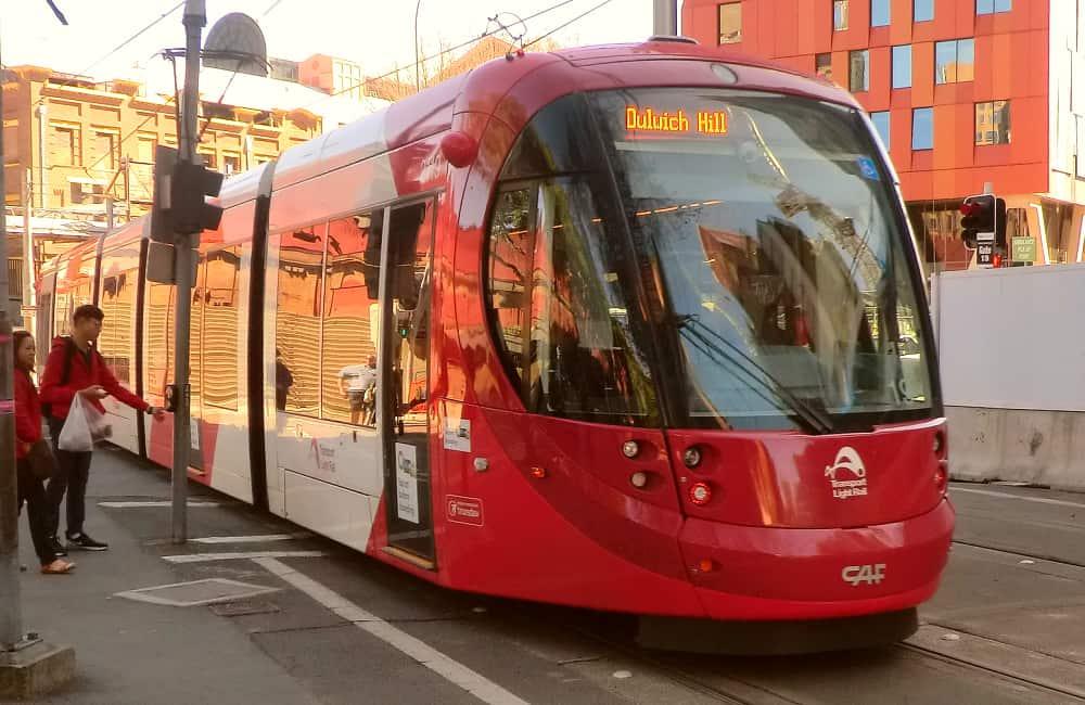 Sydney tram transport