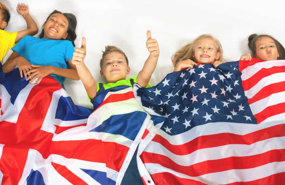 UK children in USA