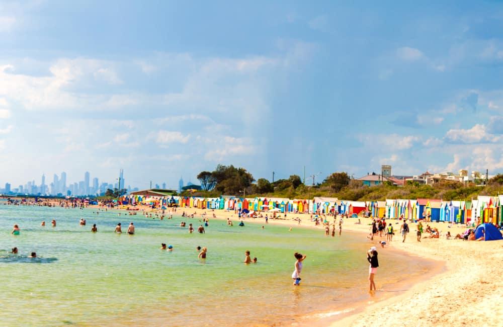Brighton Beach living in Melbourne