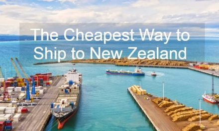The Cheapest Way to Ship to New Zealand from the UK
