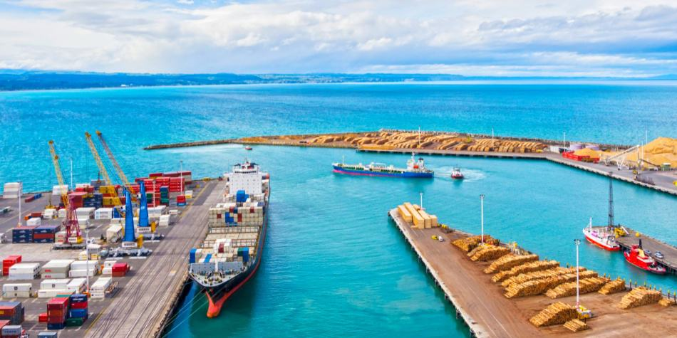 Container shipping to New Zealand