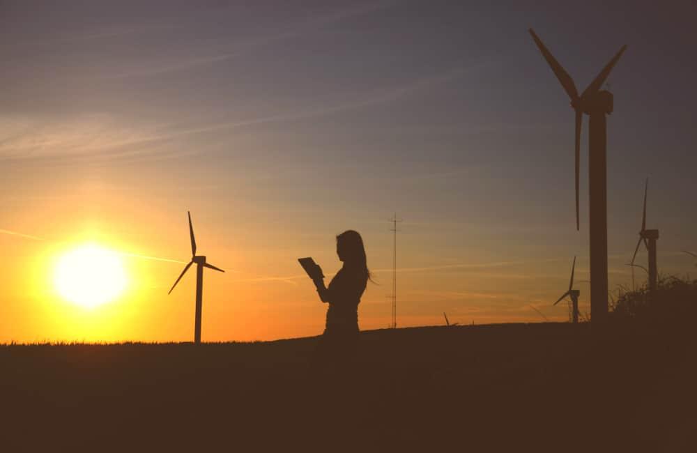 environment wind turbines Australia
