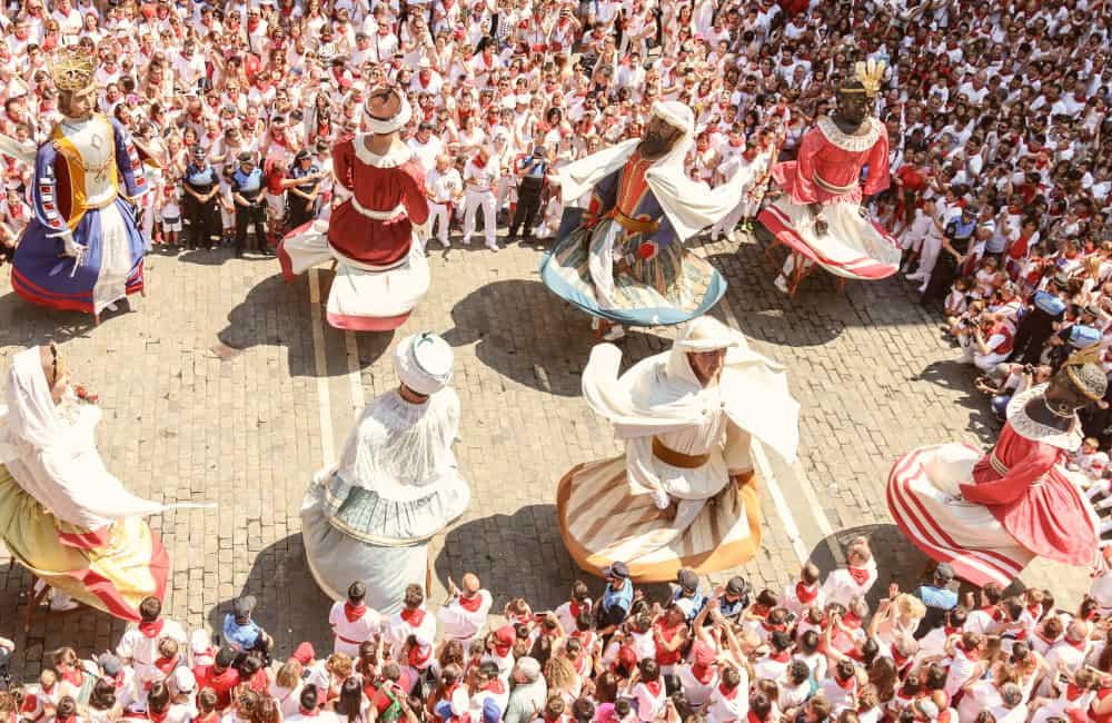 local festival in Spain