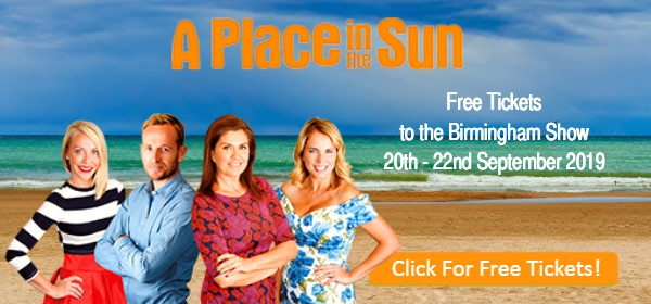 Place in the Sun free tickets NEC