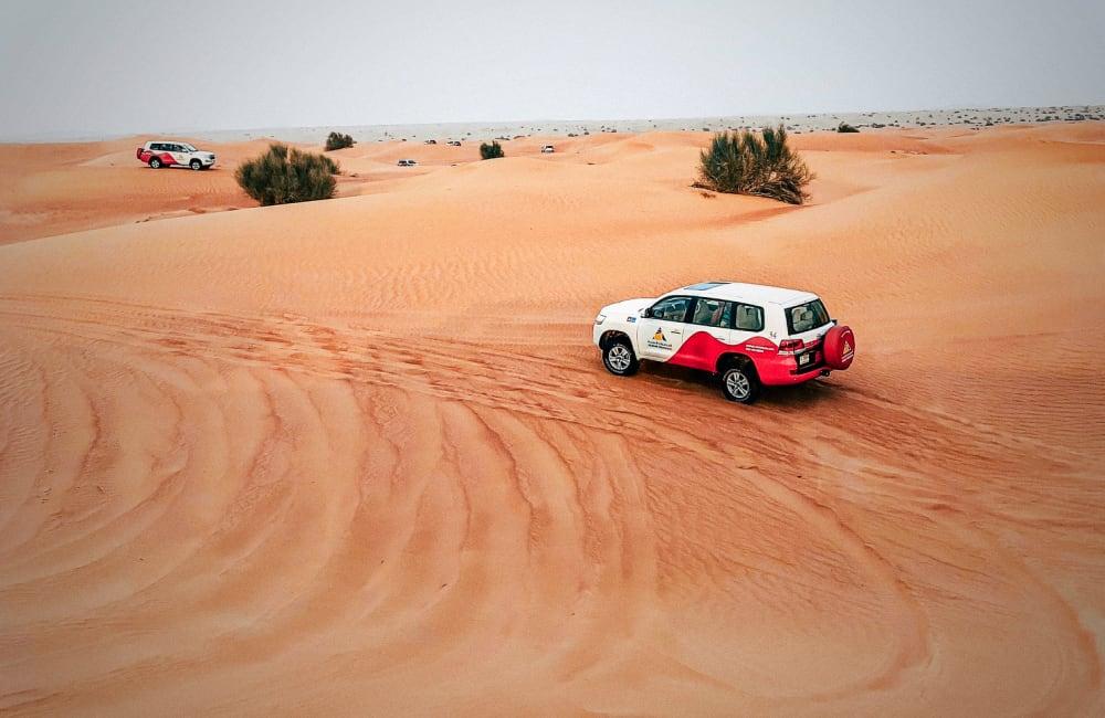 UAE desert driving