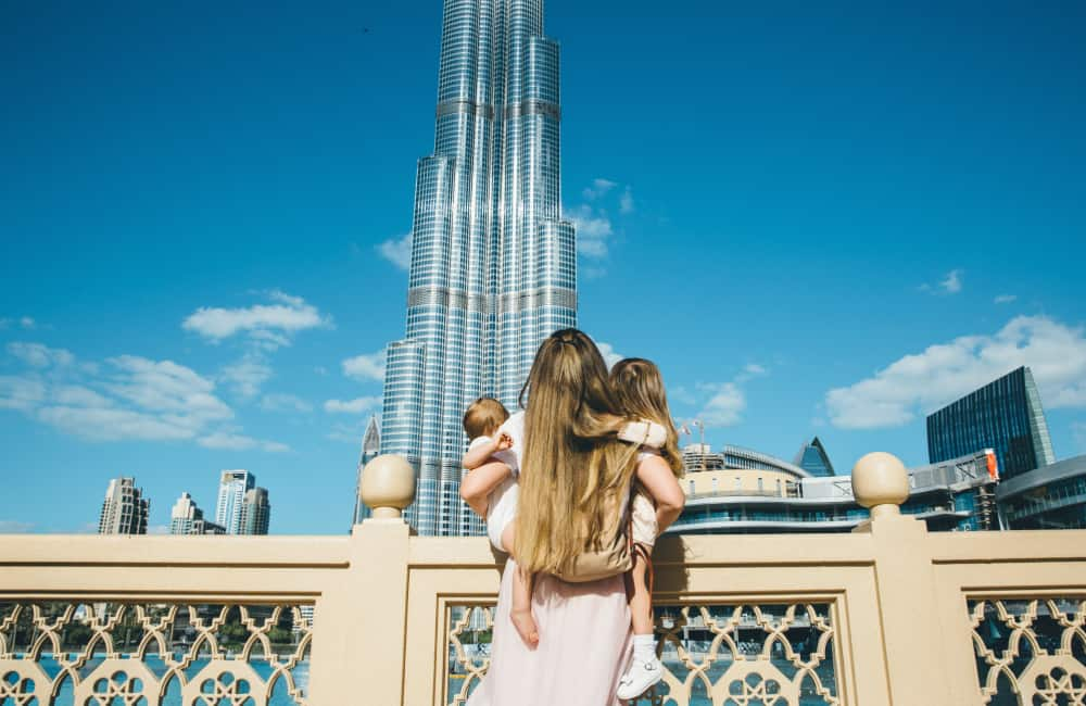 young family dubai