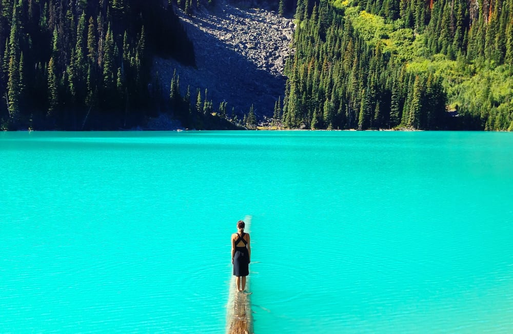 Canada mountain lake