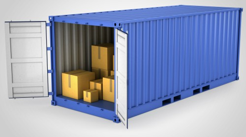 shipping container overseas removal
