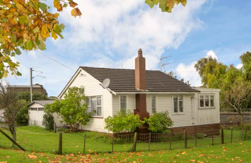Auckland suburb house