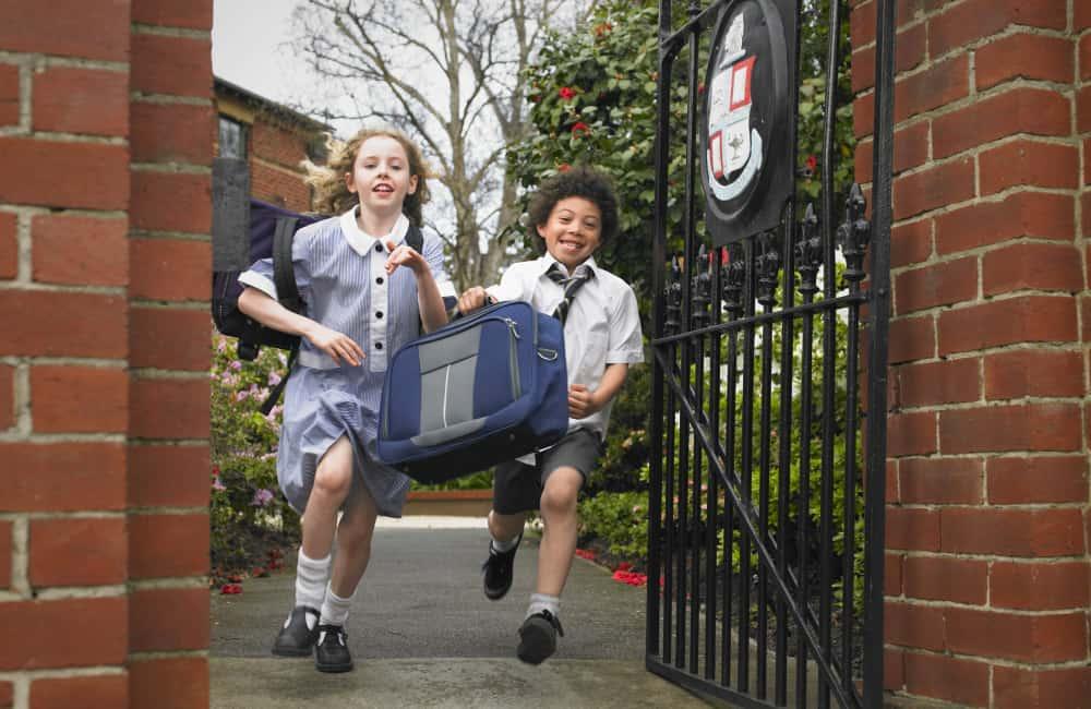 children leaving school melbourne australia