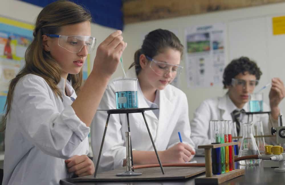 science lessons Australian school