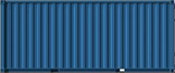 20 ft shipping container full