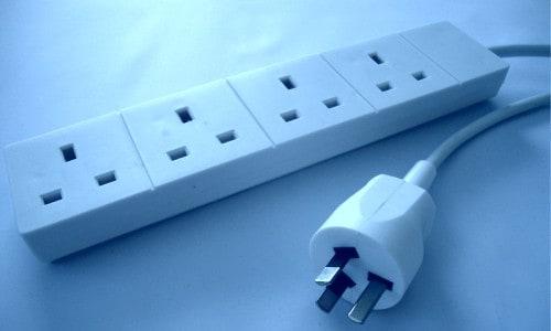 UK to Australia extension lead plug