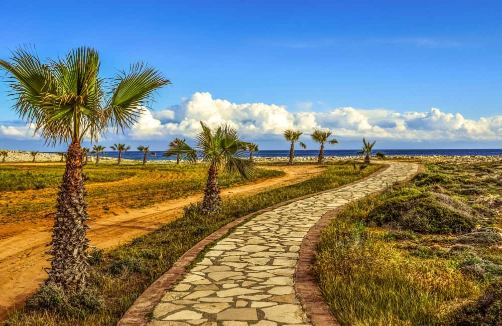 Aiya Napa Coastal Path Cyprus