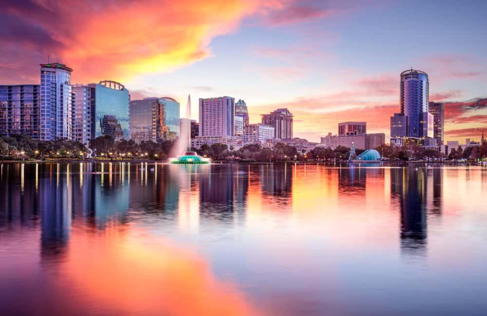 Orlando city centre