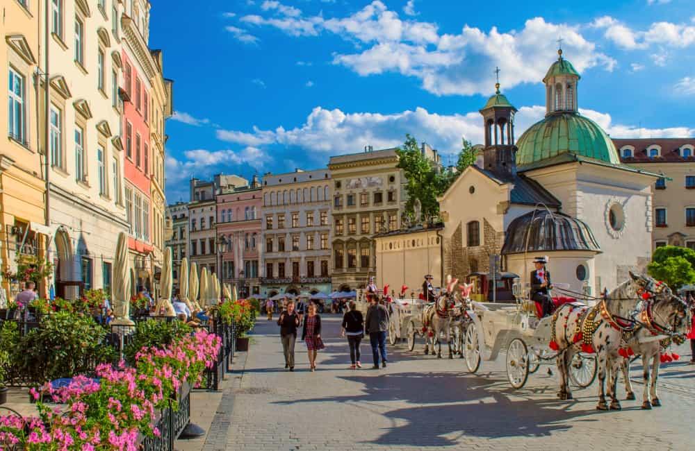 best cities krakow poland