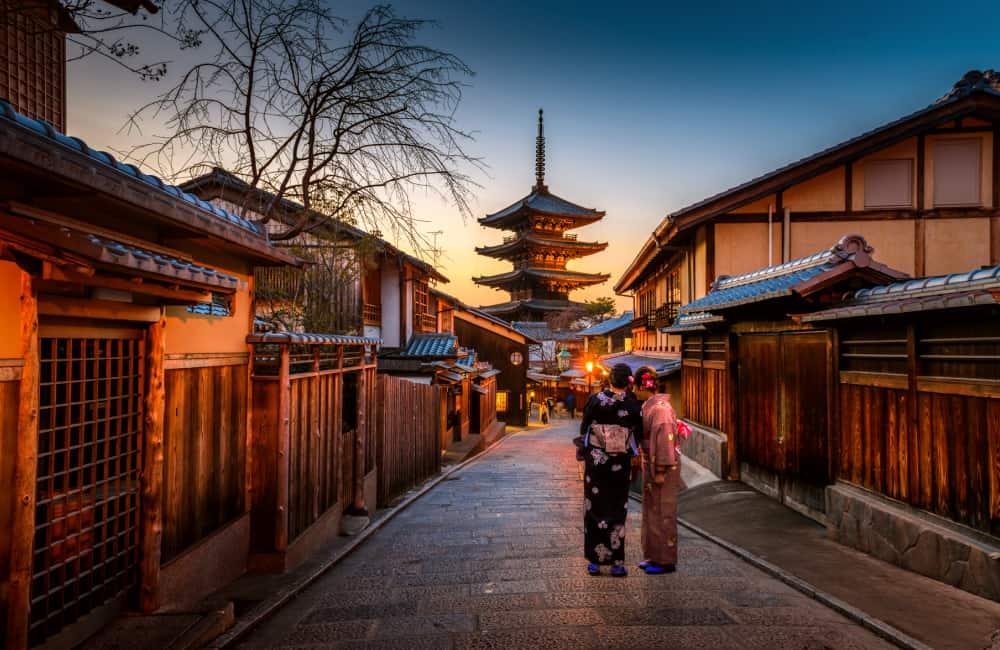 best cities kyoto japan