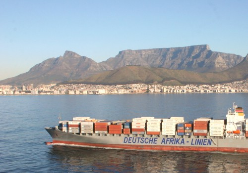 DAL container ship South Africa