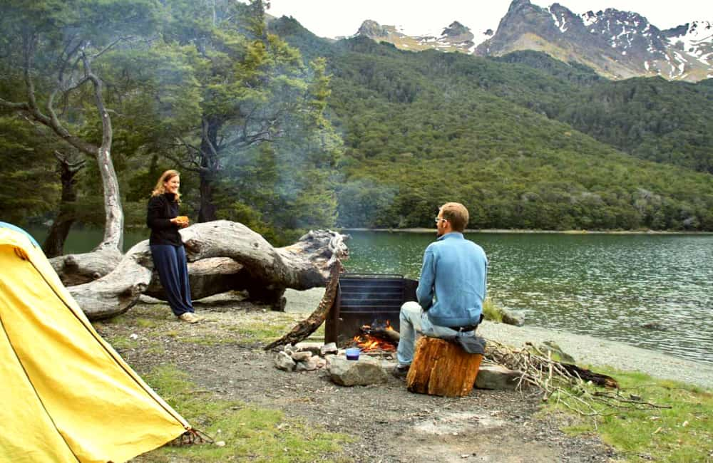Mavora lakes wild camping