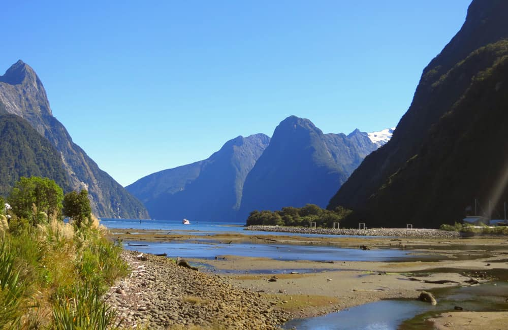 Milford Sound Freedom camping NZ
