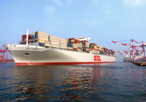 OOCL shipping departing port
