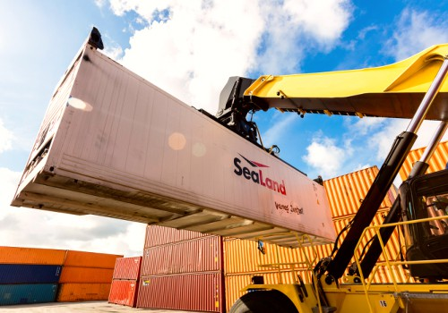 Sealand shipping container