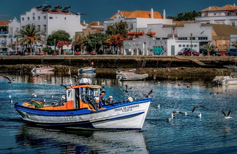 Tavira Gilao River Algarve