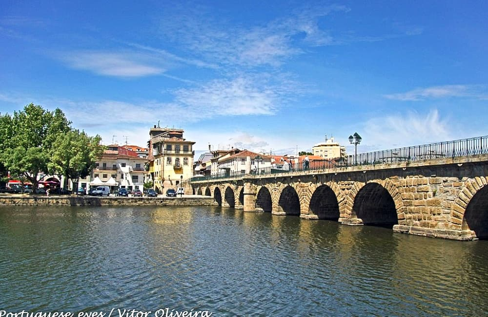 spa town of Chaves Portugal
