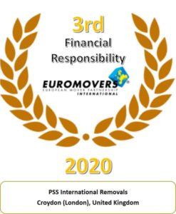 PSS EUROMOVERS Financial responsibility Award