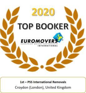 PSS EUROMOVERS Top Booker Award