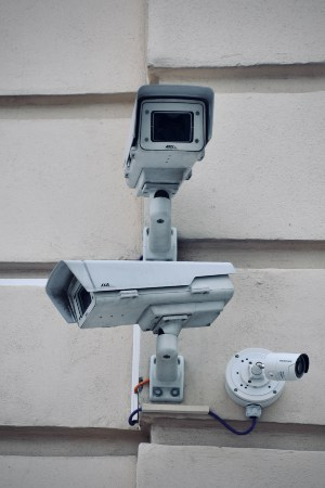 security camera for storage unit